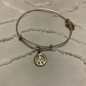 Peace Sign Alex and Ani bracelet